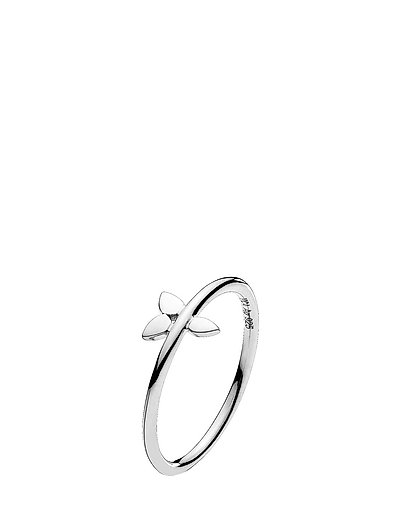 Poetry Ring - SHINY SILVER