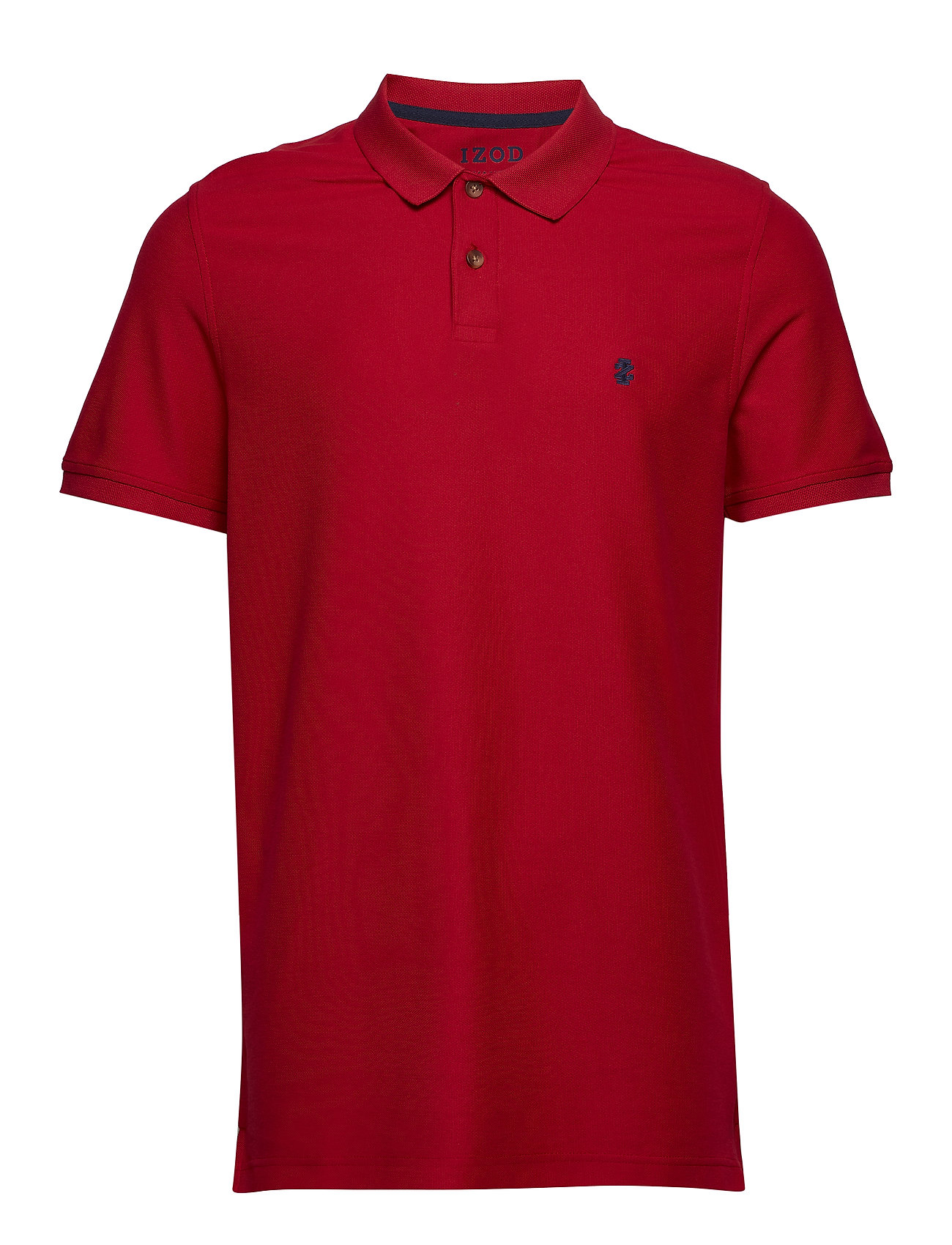 IZOD PERFORMANCE PIQUE POLO - REAL RED