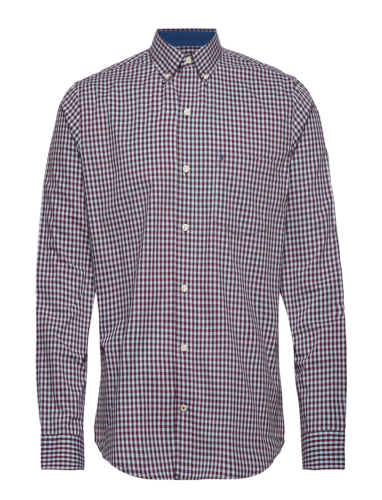 IZOD GINGHAM BD SHIRT - PORT ROYALE