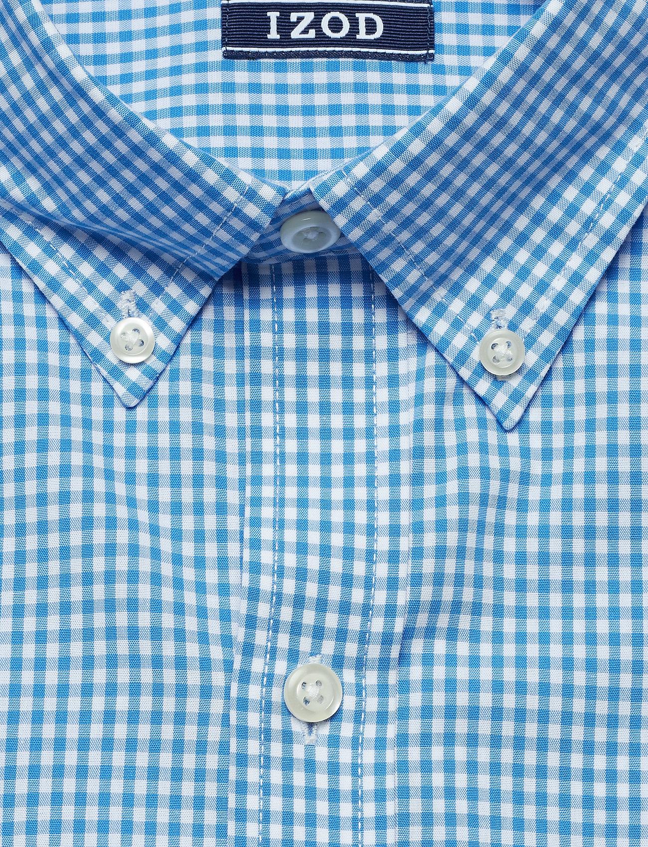 Bd RevivalIzod Gingham Mini Mini Shirtblue CxordBWQe