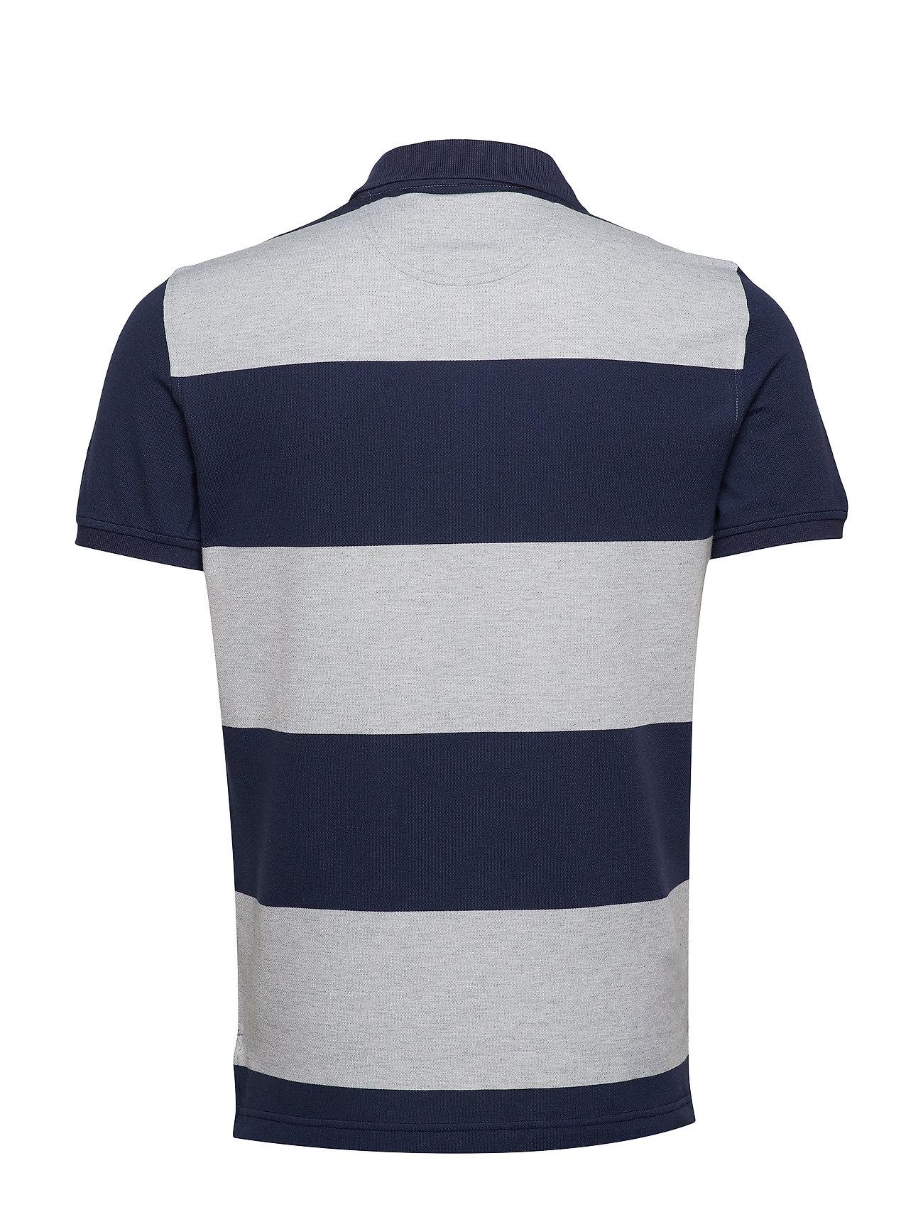 Pololt HtrIzod Stripe Performance Grey Rugby LqVUjSGzMp