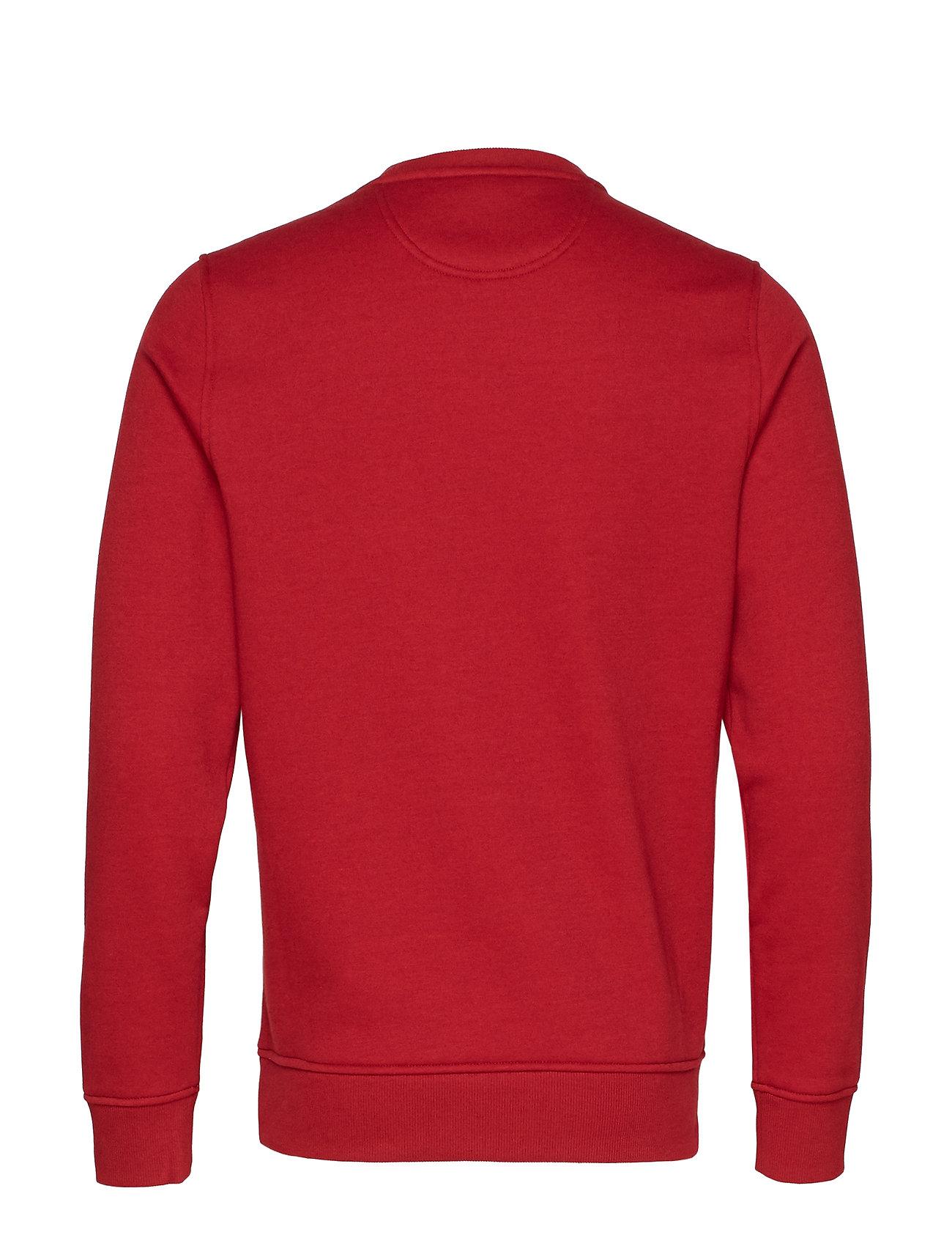 Fleece Red Crewbiking Izod Applique 4c3q5ARjL