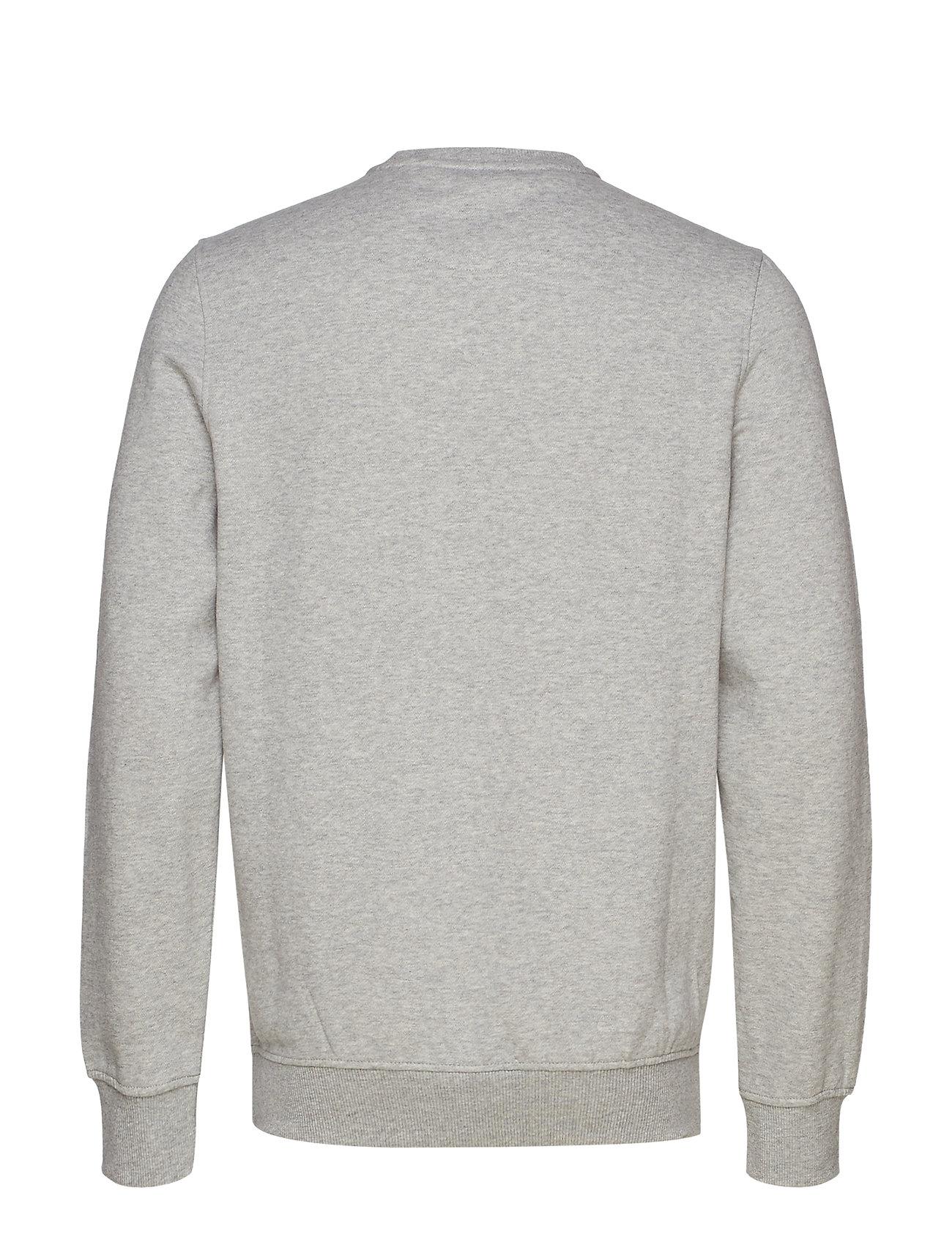 Soft Solid Grey HtrIzod Super Fleece Crewlight ChrsdxtQ