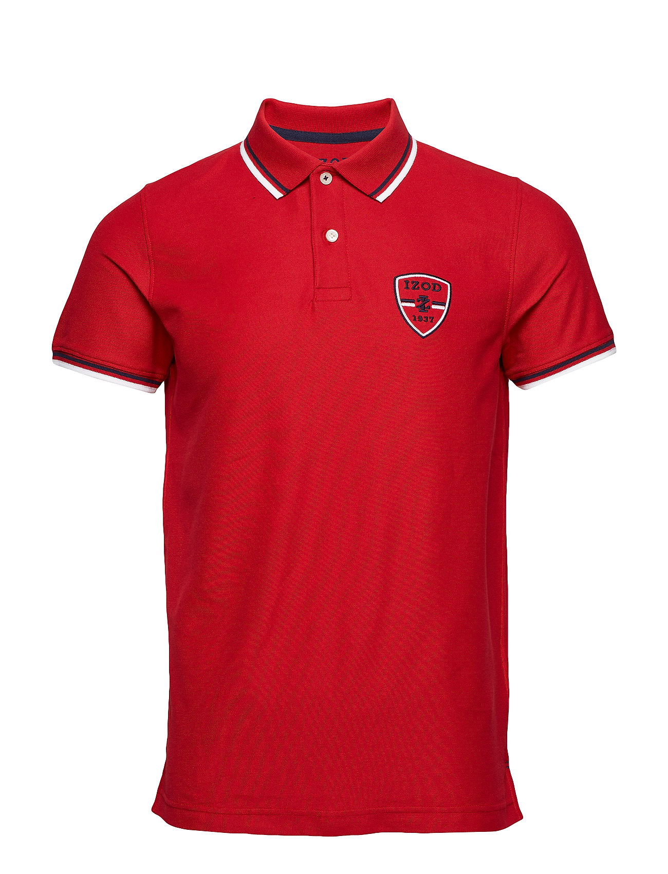 IZOD PERFORMANCE PATCH AMERICANA POLO - REAL RED