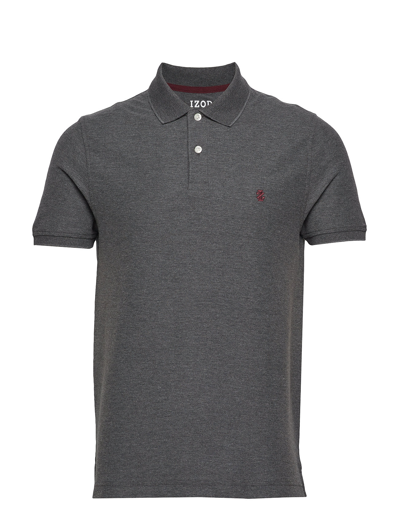 IZOD PERFORMANCE PIQUE POLO - CARBON HTR