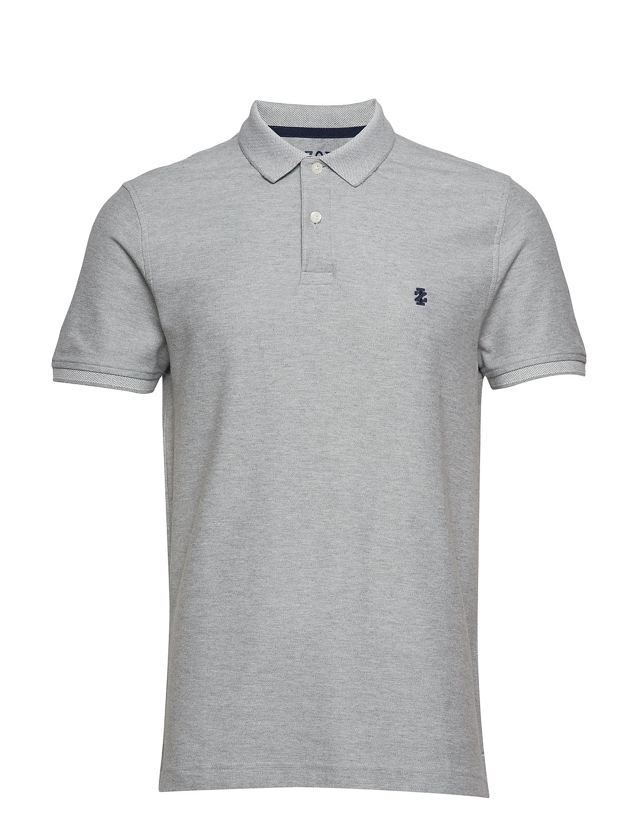 IZOD PERFORMANCE PIQUE POLO - GREY HTR