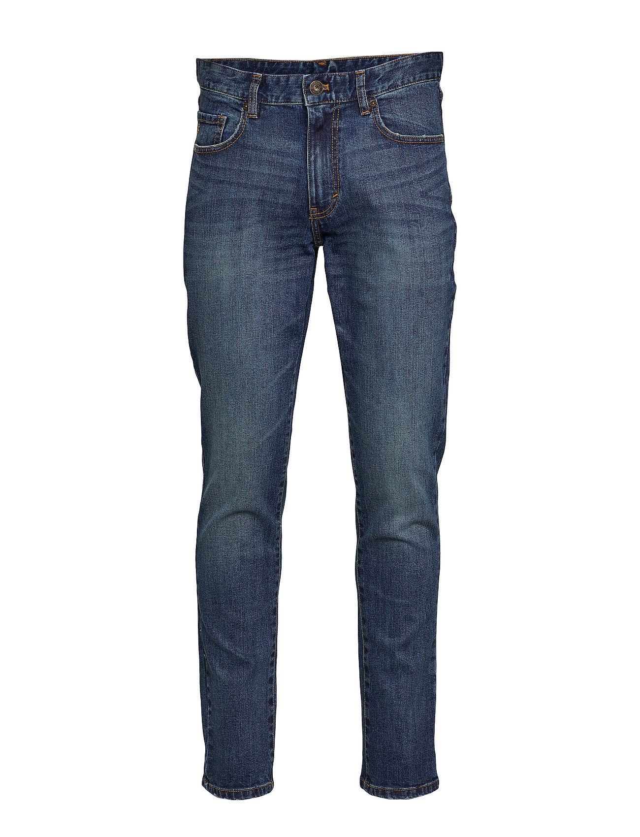 IZOD SALTWATER DENIM MEDIUM WASH - INDIGO SKY