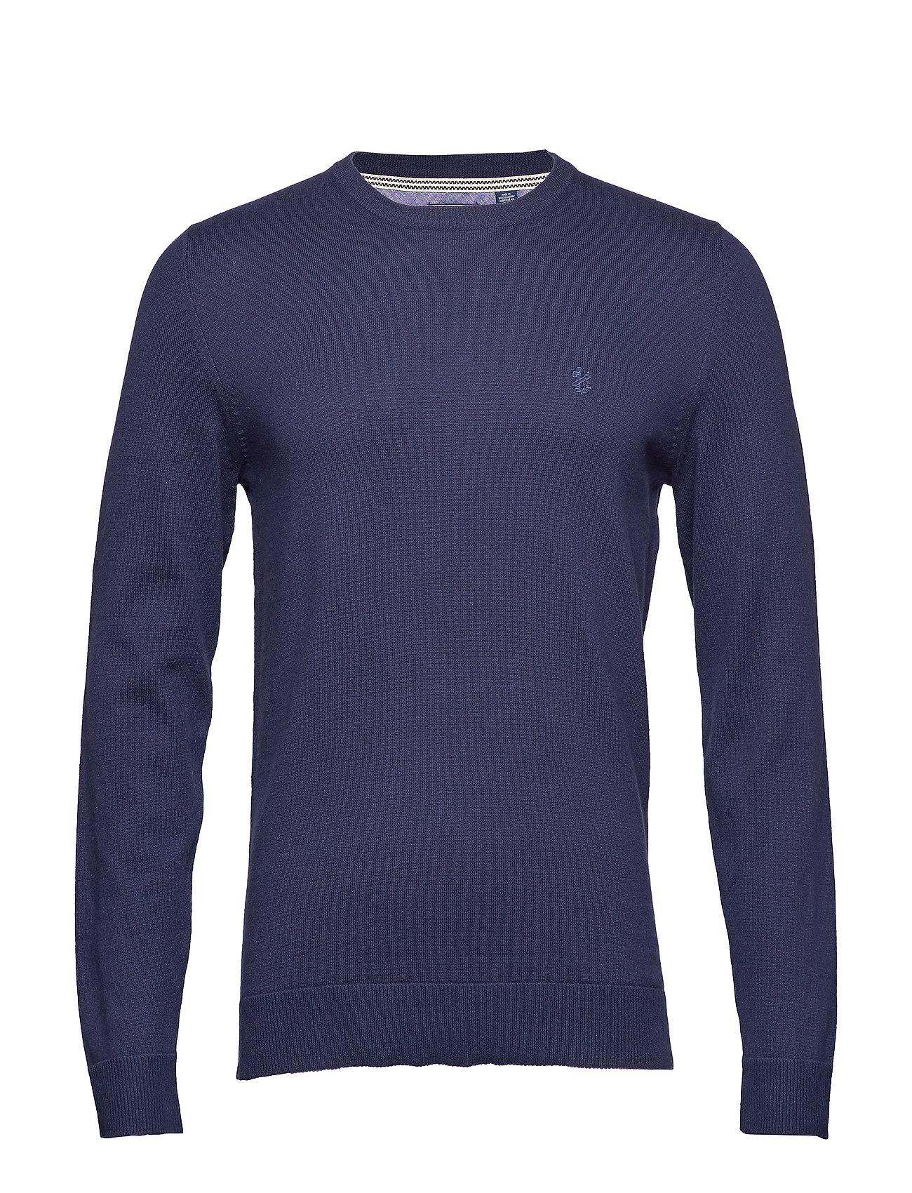 12gg Crew Neck Sweater Neulepaita Pyöreä Kaula-aukko Sininen IZOD