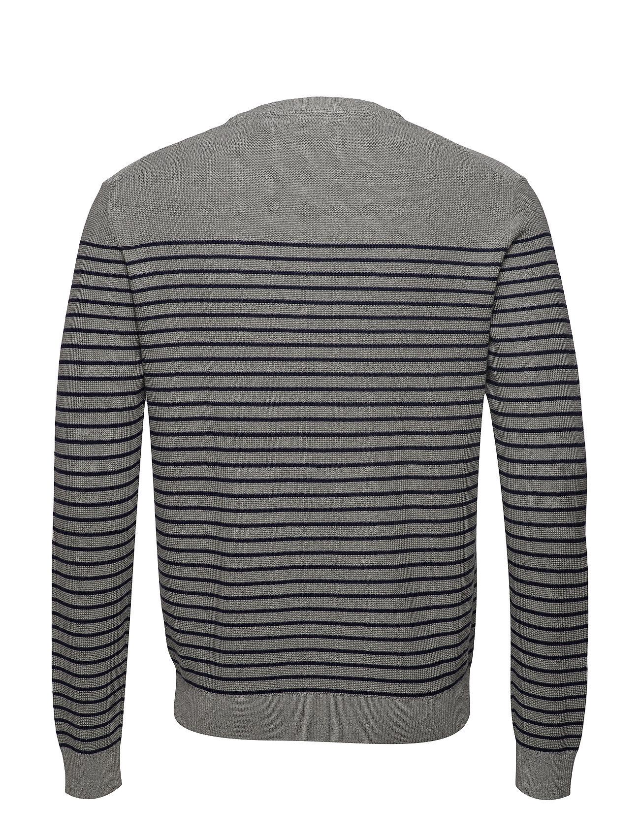 12gg Engineered Grey Sweaterlt Stripe HtrIzod e9YEW2IDHb