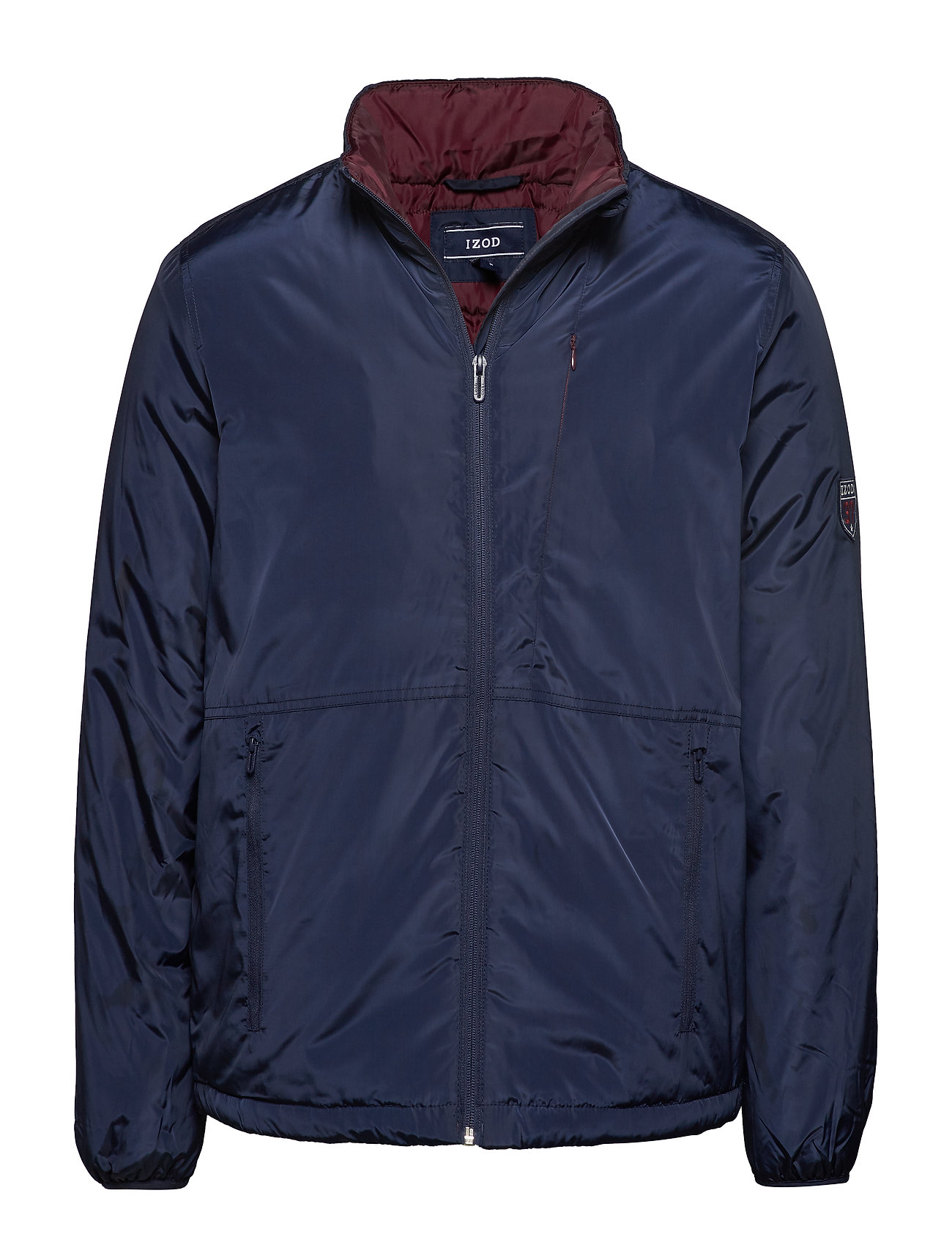IZOD ZIP UP JACKET - NAVY BLAZER