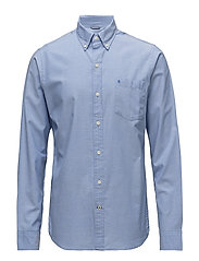 SOLID OXFORD BD SHIRT - BLUE REVIVAL