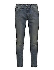 Saltwater Denim Light Wash Slimmade Jeans Blå IZOD
