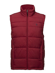 PUFFER VEST - REAL RED