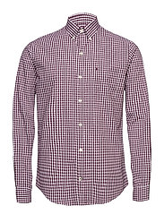 GINGHAM CHECK SHIRT - PURPLE POTION