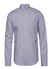 COLORED GINGHAM BD SHIRT - CANDY PINK