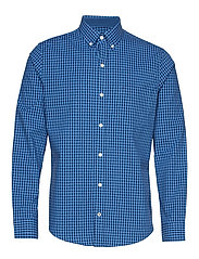 GINGHAM BD SHIRT - BLUE REVIVAL