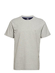 BASIC TEE - LIGHT GREY HEATHER