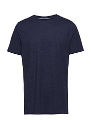BASIC TEE - NAVY STITCH