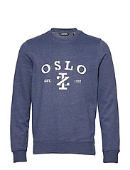 SALTWATER OSLO CREW - CLUB BLUE