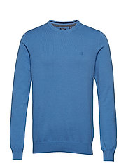12GG CREW NECK SWEATER - BLUE REVIVAL