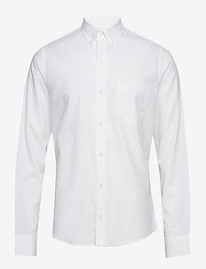 POPLIN STRETCH SHIRT - WHITE