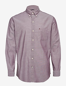 SOLID OXFORD BD SHIRT - FIG