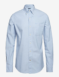 OXFORD STRIPE BD SHIRT - BLUE REVIVAL