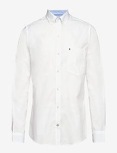 END ON END WITH DETAILS BD SHIRT - BRIGHT WHITE