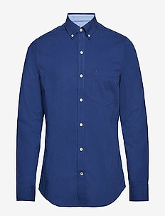 END ON END WITH DETAILS BD SHIRT - SP PEACOAT