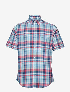 DOCKSIDE BIG PLAID SS SHIRT - PETIT FOUR