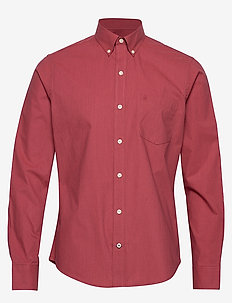 END ON END BD SHIRT - DARK CRANBERRY
