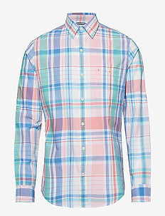 DOCKSIDE MADRAS CHECK SHIRT - CANDY PINK