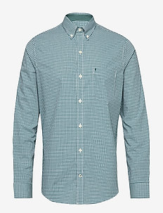 MINI GINGHAM BD SHIRT - BOTANICAL GARDEN