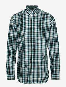 POPLIN PLAID BD SHIRT - BOTANICAL GARDE