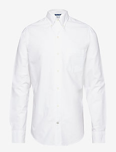 WASHED OXFORD BD SHIRT - BRIGHT WHITE