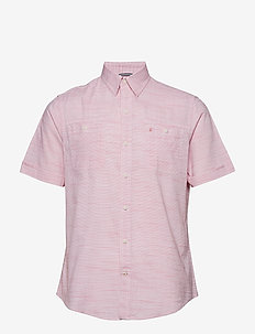 DOCKSIDE CHAMBRAY SLUB SS SHIRT - RAPTURE ROSE