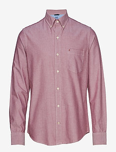OXFORD BD SHIRT - BIKING RED