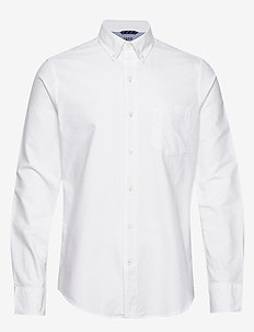 OXFORD BD SHIRT - BRIGHT WHITE