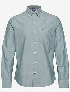 OXFORD BD SHIRT - EVERGREEN