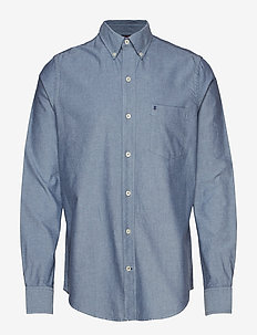 OXFORD BD SHIRT - PEACOAT