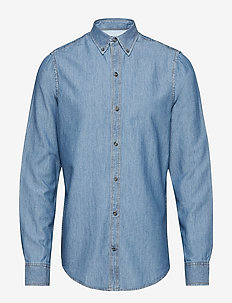 CHAMBRAY BD SHIRT - CHAMBRAY BLUE