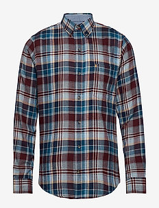FLANNEL PLAID BD SHIRT - PORT ROYALE