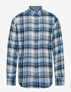 FLANNEL PLAID BD SHIRT - VANILA ICE