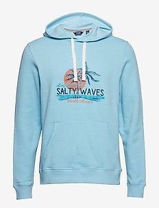 PULLOVER HOODIE WITH GRAPHIC - PETIT FOUR