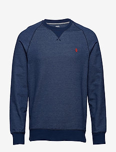 FRENCH TERRY CREW NECK - CLUB BLUE