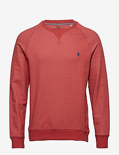 FRENCH TERRY CREW NECK - SALTWATER RED