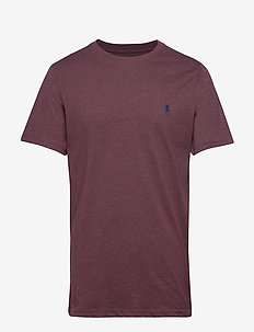 CHEST LOGO BASIC TEE - PORT ROYALE