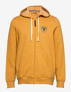 SUPER SOFT FLEECE ZIP HOODIE - hoodies - spruce yellow