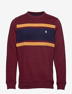 SUPER SOFT COLORBLOCK CREW - PORT ROYALE