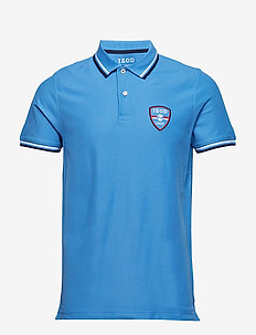 PERFORMANCE PATCH AMERICANA POLO - BLUE REVIVAL